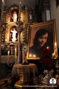 La Hermandad de la Soledad en Pozoblanco honra a la beata Teresa en la parroquia de San Sebastián.
