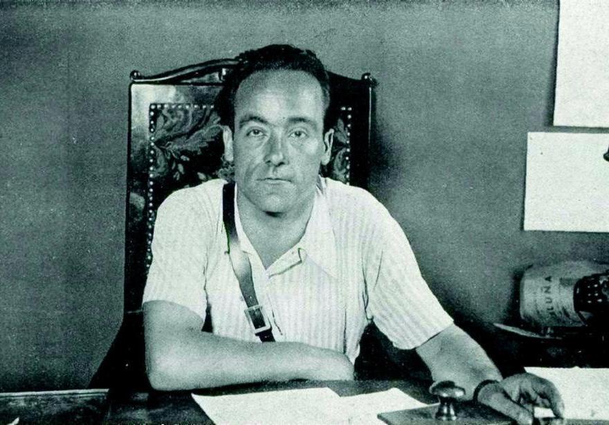 Juan García Oliver, ministro de Justicia de Largo Caballero, hizo dimitir a Melchor Rodríguez y retomar las matanzas de presos.