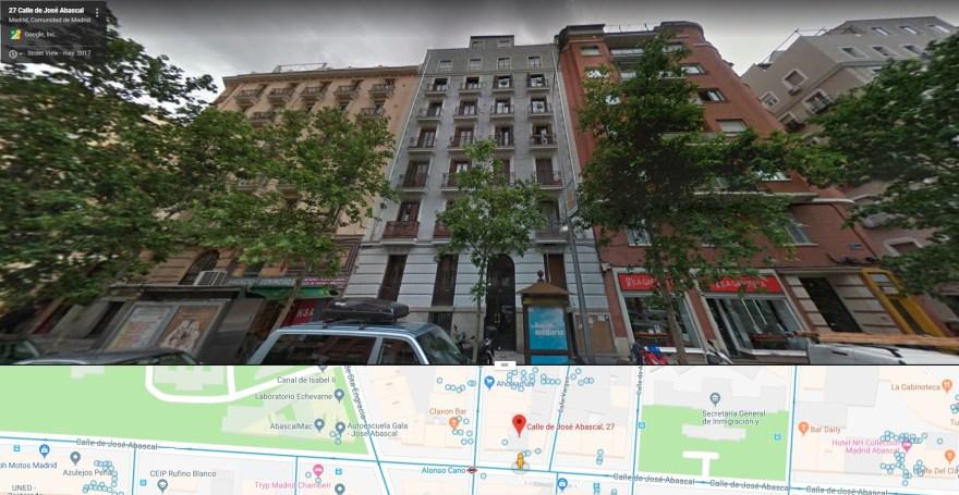 Julia Angulo, dueña del piso 3º de la casa gris (Abascal 27) fue asesinada por acoger a religiosos paúles.