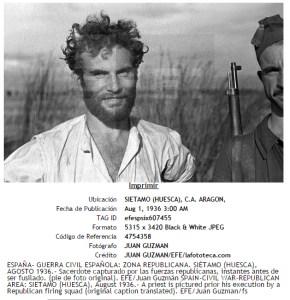 Foto que se asignó erróneamente al pie de foto escrito por Gutmann.