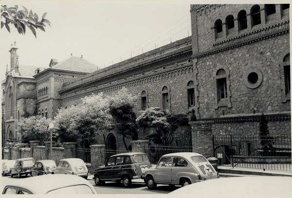 Convento de San Elías, convertido en principal checa de Barcelona.