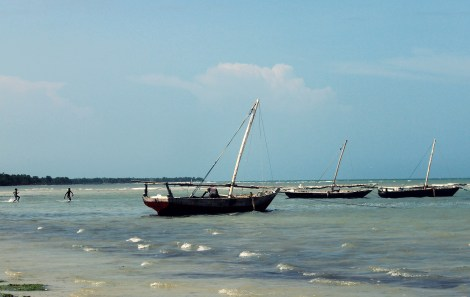 Fishing boats Bagamoyo