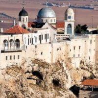 Maica Domnului i s-a arătat președintelui Assad în Mănăstirea Saidnaya