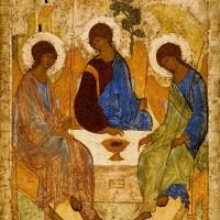 "Interpretarea icoanei ""Sfânta Treime"" a lui Andrei Rubliov"