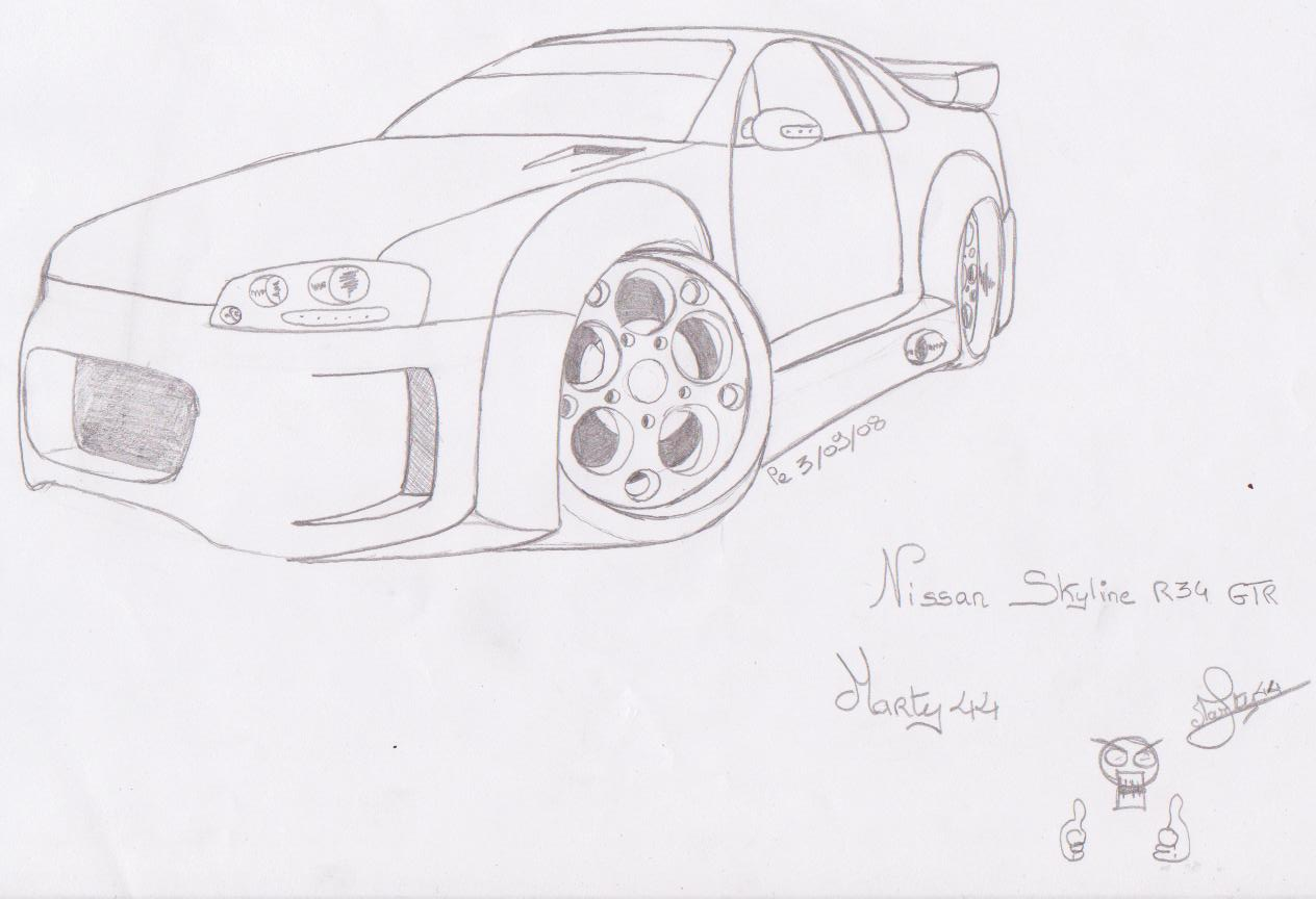 Dessin Tuning Et Amis A Moi