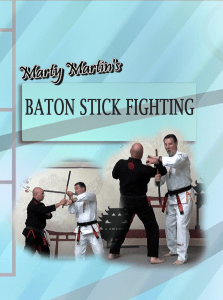 Enter Baton Stick Fighting based on the principles of Arnis (Pilipino Stick Fighting)