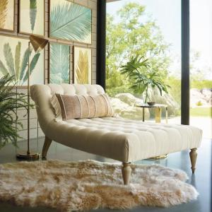 Lund Tufted Chaise