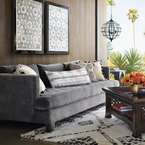 Kiro Melange Tassel Lumbar Decorative Pillow