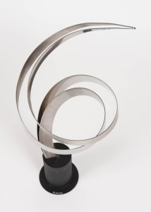 French 1970S Vintage Sculpture By Curtis Jere