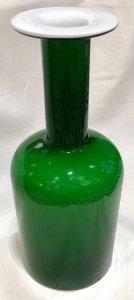 Green Scandinavian Midcentury Vase