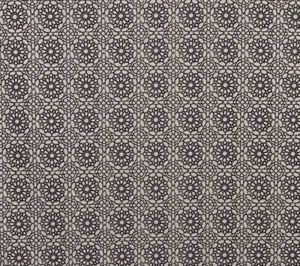 Mamounia Petite ebony Indoor fabric by Martyn Lawrence Bullard