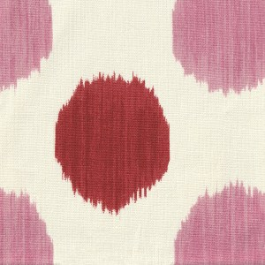 Aphrodite Red and Pink indoor fabric by Martyn Lawrence Bullard