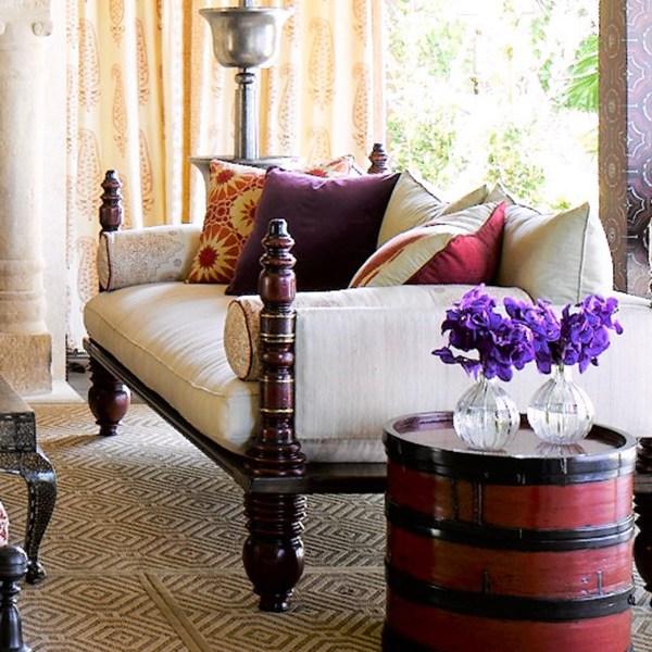 Shambala Phoenix indoor fabric, designed by Martyn Lawrence Bullard