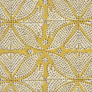 Kabba Kabba yellow dots Indoor fabric by Martyn Lawrence Bullard