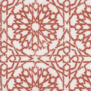 Mamounia Petite paprika Outdoor fabric by Martyn Lawrence Bullard