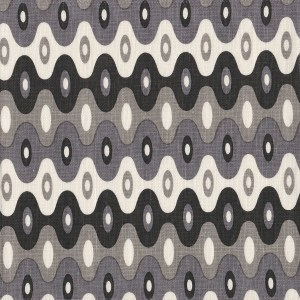 Kubla Mini Fog grey indoor fabric by Martyn Lawrence Bullard