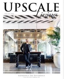 Martyn Lawrence Bullard on the cover of Upscale Living Magazine