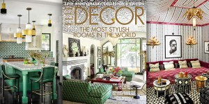 ELLE Decor 30th anniversary issue featuring Martyn Lawrence Bullard's West Hollywood home