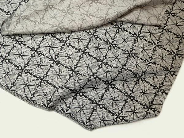 Kabba Kabba charcoal tan Indoor/Outdoor Performance Woven fabric by Martyn Lawrence Bullard