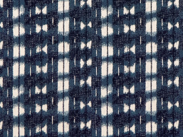 Shibori indigo Indoor/Outdoor Performance Woven fabric by Martyn Lawrence Bullard
