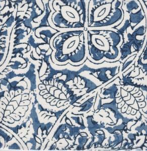 Senja blue indoor fabric by Martyn Lawrence Bullard