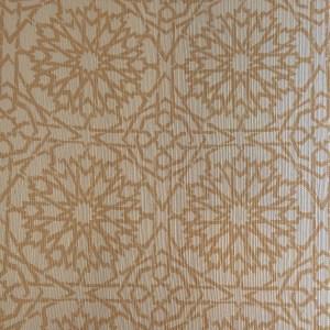 Mamounia Petite wallcovering in Desert Sand beige, by Martyn Lawrence Bullard