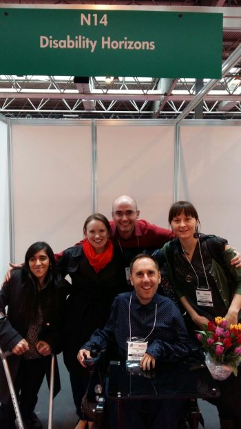 Disabiltiy Horizons team at Naidex