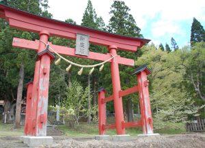 御座石神社-鳥居