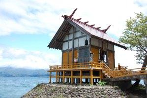 田沢湖-浮木神社
