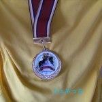 愛猫へ贈った「金メダル」気に入ってくれるかな?