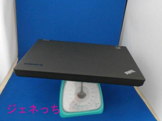 ThinkPadT440p重さ量る