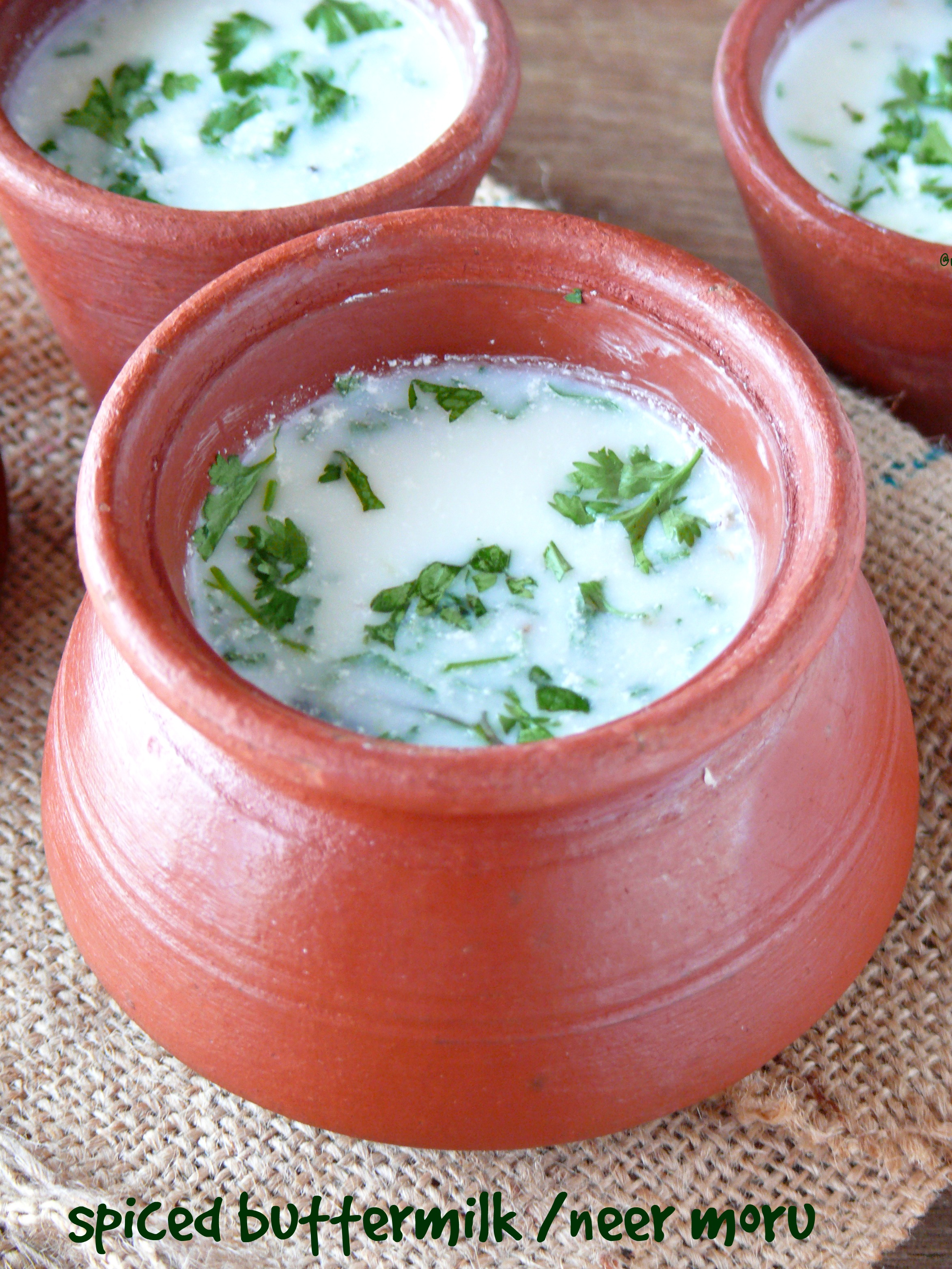 spiced buttermilk recipe/neer moru