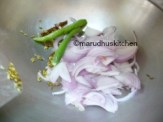 AFTER COLOUR CHANGES ADD ONION CHILLIES WITH SALT FOR ONIONS