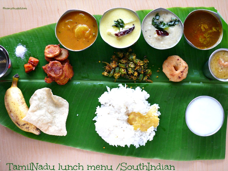 SouthIndian meal/TamilNadu lunch