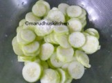 PUT NEEDED SALT MIX THE CUCUMBER