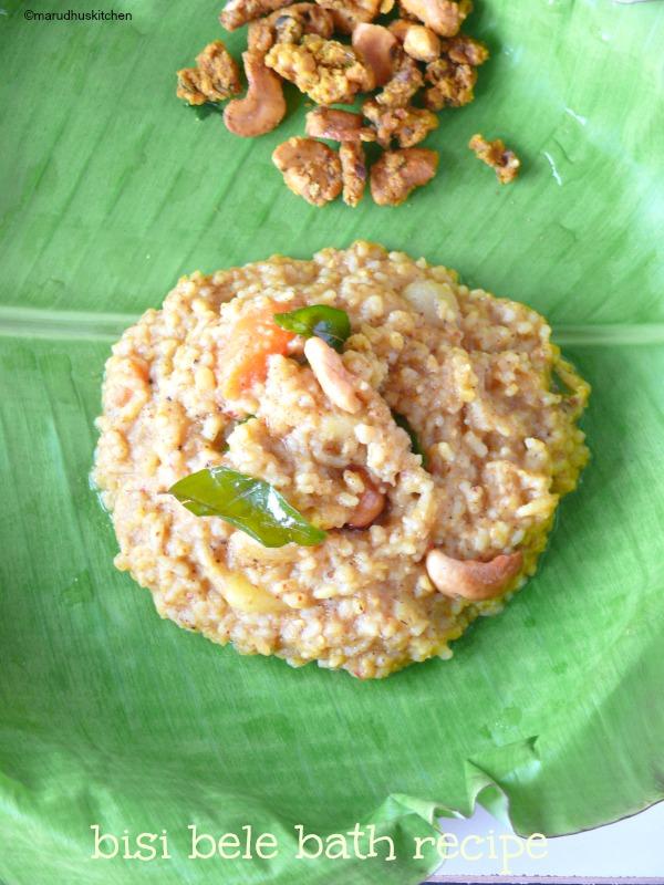 karnataka style bisi bele bath recipe