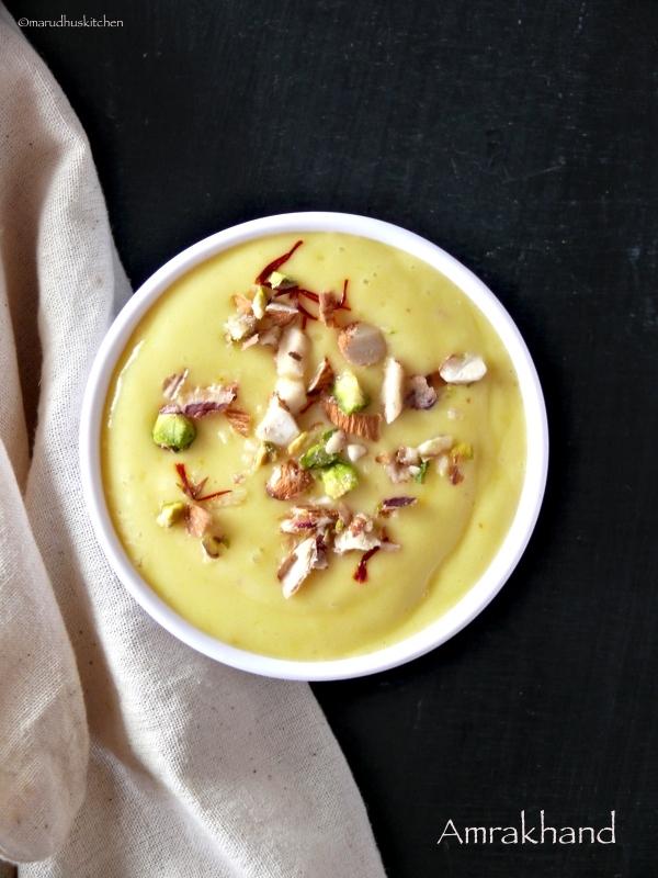 aam shrikhand recipe /mango shrikhand /amrakhand