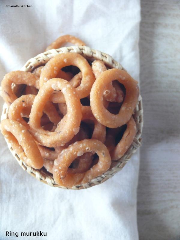 ring murukku recipe/ marudhuskitchen