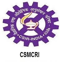 CSIR-CSMCRI-Recruitment