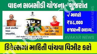 GEDA - Three- Wheeler (e-Rickshaw) Sahay yojana 2020-21 Details