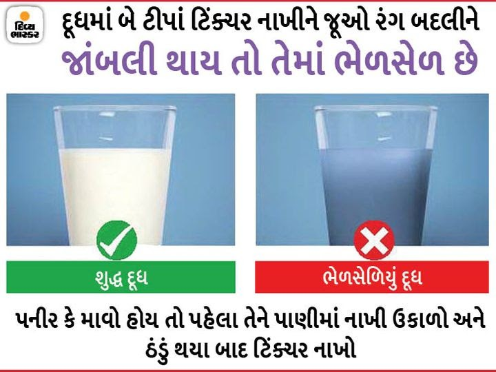 Easy way to know which food is adulterated at home » MaruGujaratDesi