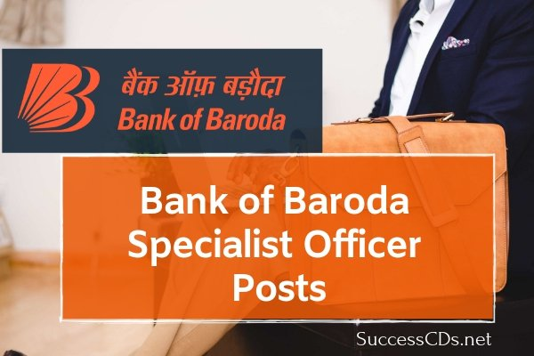 BOB Specialist Officer Jobs