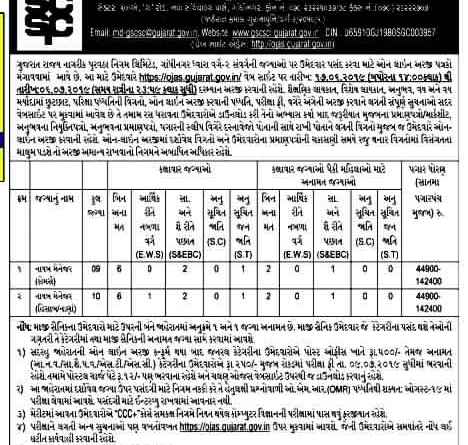 GSCSCL Manager Bharti 2019