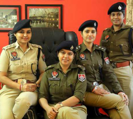 Police station based support center recruitment