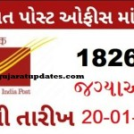 Gramin Dak Sevak Recruitment for 1826 Posts 2020-21