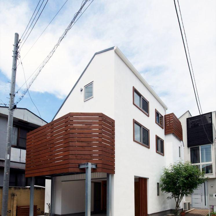 輻射式暖房と自然素材の家