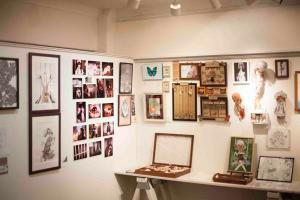 幻想退廃症候群展3・展示の様子