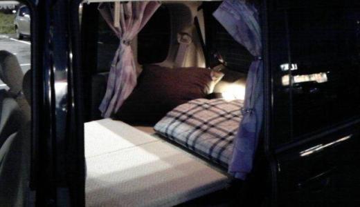 【自作】軽自動車パレットで車中泊ベッドを作ってみた