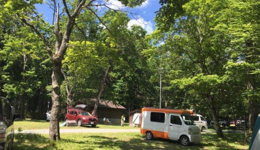 【キャンプ】支笏湖 テントむしin美笛キャンプ場