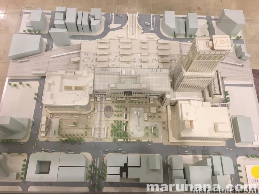 JR札幌駅の模型